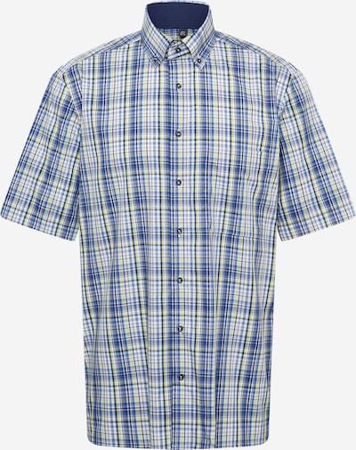 ETERNA Hemd in royalblau / hellblau / hellgrau / schilf / weiß, Produktansicht
