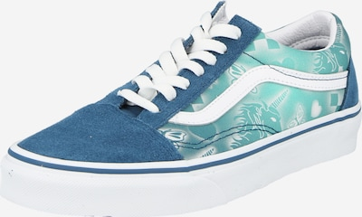 VANS Sneaker 'Old Skool' in marine / türkis / weiß, Produktansicht