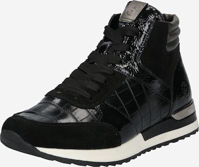 Sneaker înalt REMONTE pe negru, Vizualizare produs