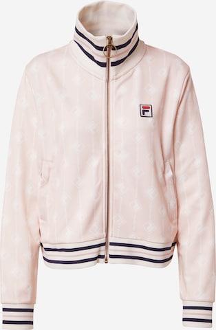 FILA Between-Season Jacket in Pink