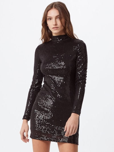 Motel Koktel haljina 'GUEDRA' u crna, Prikaz modela