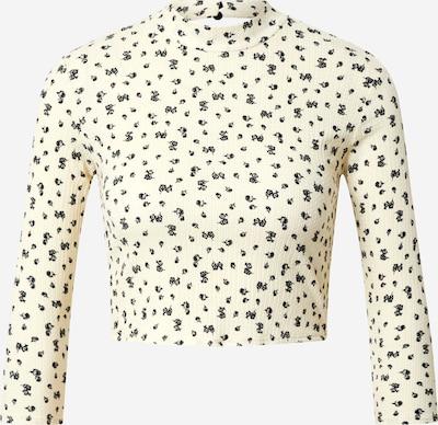 Miss Selfridge Camiseta 'Ivory' en crema / negro, Vista del producto