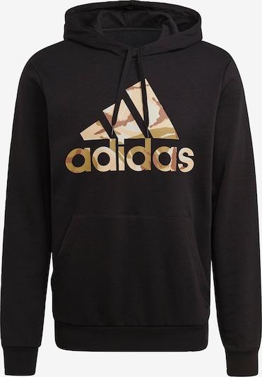 ADIDAS PERFORMANCE Sweatshirt in gold / schwarz, Produktansicht