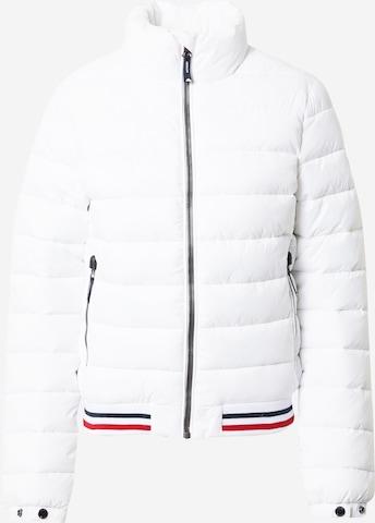 Veste mi-saison 'Fuji' Superdry en blanc