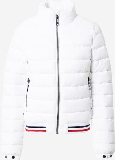 Superdry Jacke 'Fuji' in feuerrot / schwarz / weiß, Produktansicht