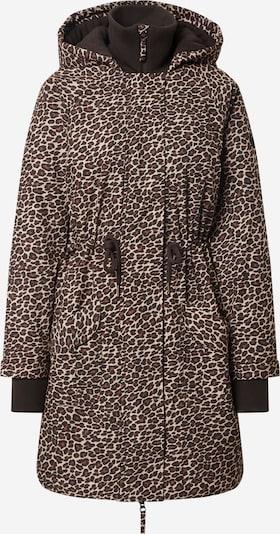 Blutsgeschwister Winter coat in beige / wine red / black, Item view