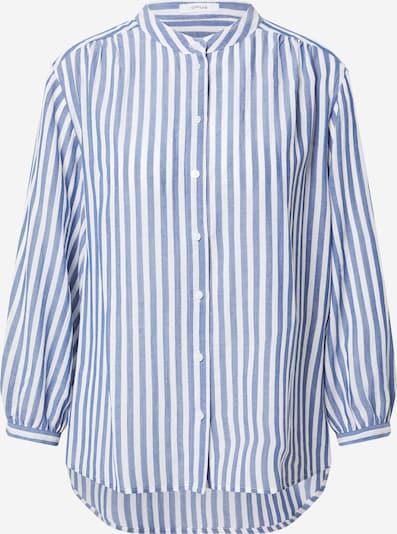 OPUS Bluse 'Fiefer' i blå / hvid, Produktvisning