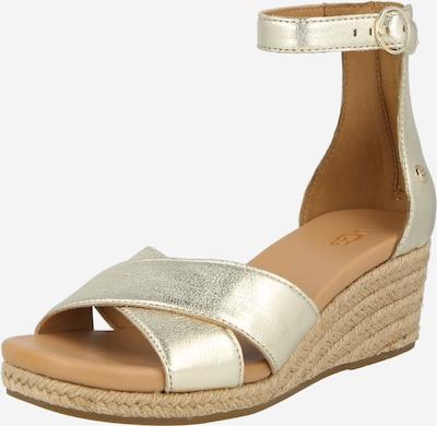 UGG Sandale 'EUGENIA' in gold, Produktansicht