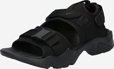 Nike Sportswear Sandalias de trekking 'Canyon' en negro, Vista del producto