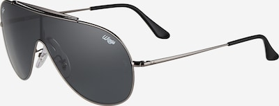 Ray-Ban Sonnenbrille 'WINGS' in silber, Produktansicht