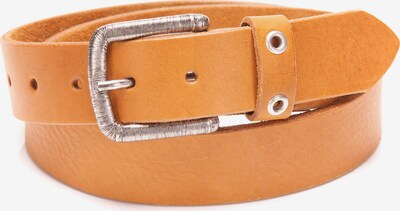 BA98 Ledergürtel in cognac / orange / silber, Produktansicht
