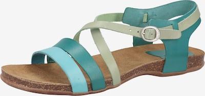 KICKERS Sandale in blau / grün, Produktansicht