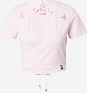 VIERVIER Shirt 'Tara' in Roze