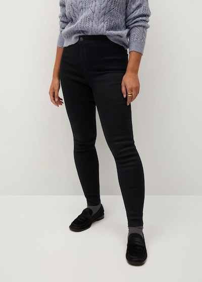 VIOLETA by Mango Jeans 'Tania' in schwarz, Modelansicht