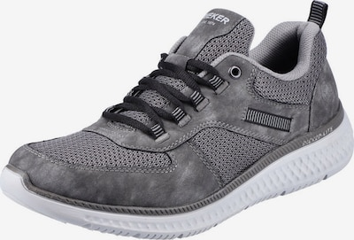 RIEKER Sneaker in grau / rauchgrau, Produktansicht