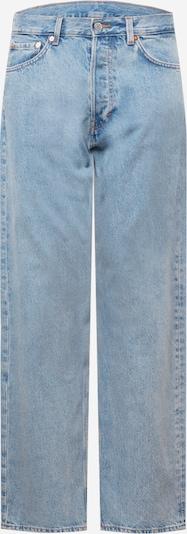 WEEKDAY Jean 'Space Seven' en bleu clair, Vue avec produit