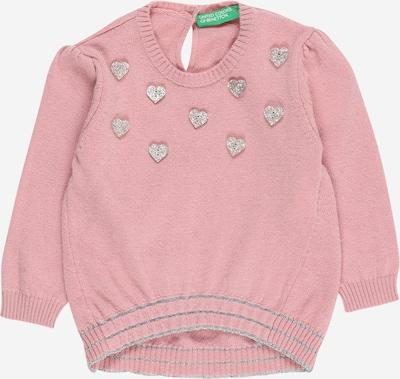 UNITED COLORS OF BENETTON Pullover en rosa / silber, Vue avec produit