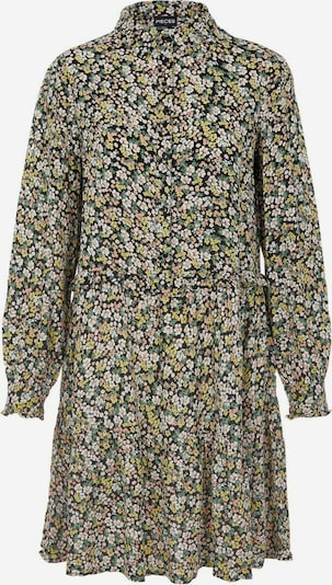 PIECES Košulja haljina u žuta / zelena / losos / crna, Pregled proizvoda