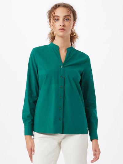 MORE & MORE Bluse in grün, Modelansicht