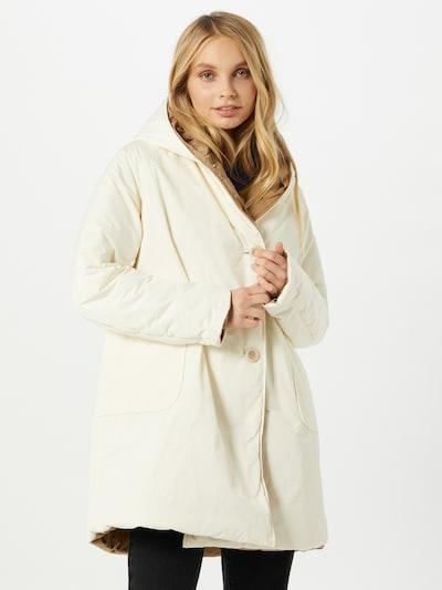 OOF WEAR Mantel in camel / weiß, Modelansicht
