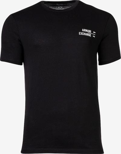 ARMANI EXCHANGE Shirt in de kleur Zwart / Wit, Productweergave