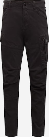 G-Star RAW Cargo trousers 'Roxic straight tapered' in black denim, Item view