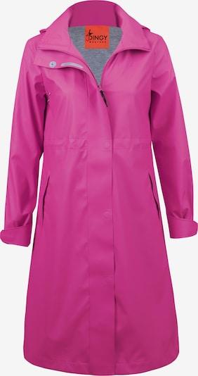 Dingy Rhythm Of The Rain Regenmantel 'Kim' in pink, Produktansicht