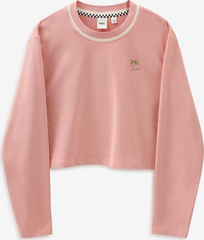 VANS Sweatshirt in beige / blau / grün / pink, Produktansicht