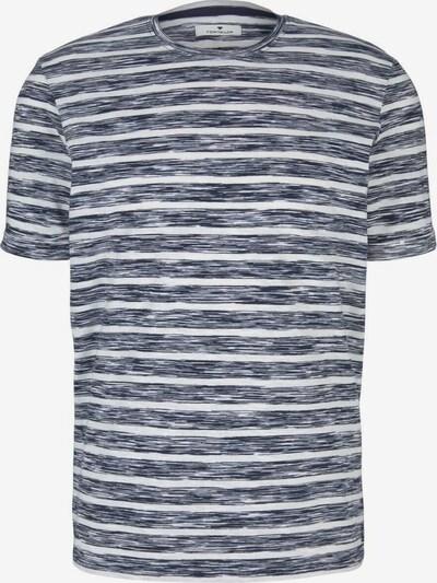 TOM TAILOR Shirt in de kleur Navy / Wit gemêleerd, Productweergave