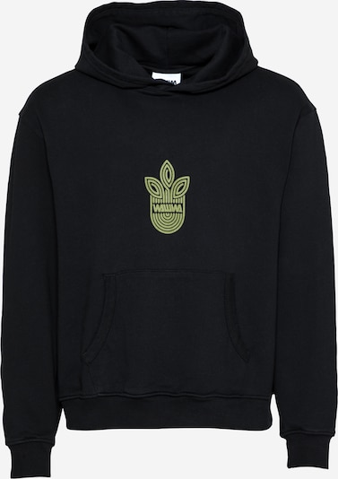 WAWWA Sweatshirt in Khaki / Black, Item view