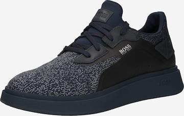 Sneaker bassa 'Bulton' di BOSS Casual in blu