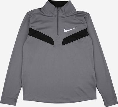 NIKE Bluza sportowa w kolorze szary / czarny / białym, Podgląd produktu