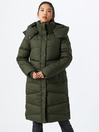 TOM TAILOR Zimní kabát - tmavě zelená, Model/ka
