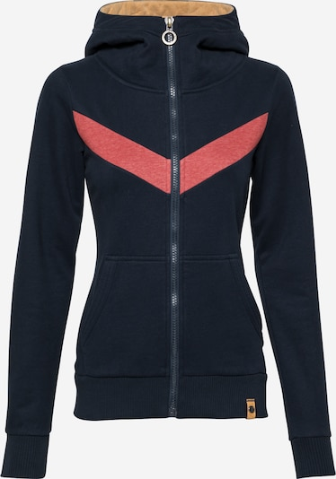 Fli Papigu Sweat jacket 'Alles nur Instinkt' in Dark blue, Item view