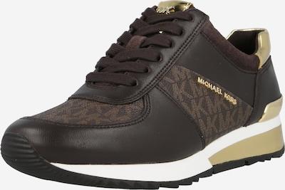 Sneaker low 'ALLIE' MICHAEL Michael Kors pe maro / castaniu / auriu, Vizualizare produs