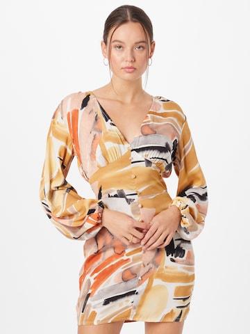 In The Style Kleid in Mischfarben