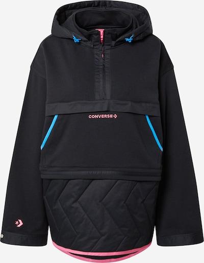 CONVERSE Sweatshirt in türkis / rosa / schwarz, Produktansicht