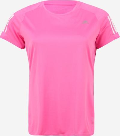 ADIDAS PERFORMANCE T-shirt fonctionnel 'Own the Run' en rose / blanc, Vue avec produit