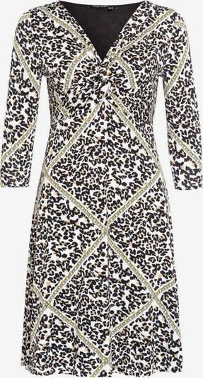 MARC AUREL Kleid in beige / hellbraun / gold / schwarz, Produktansicht
