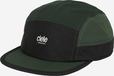 Șapcă 'Black Forest' CIELE ATHLETICS pe verde închis / negru / alb, Vizualizare produs