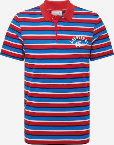 LACOSTE Tričko - modrá / námornícka modrá / červená / biela, Produkt