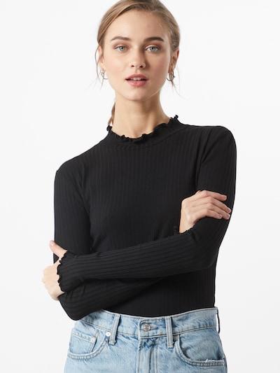 Hailys Shirt 'Iris' in schwarz: Frontalansicht
