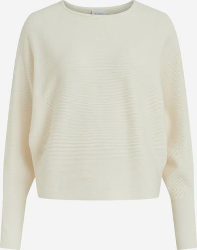VILA Pullover in wollweiß, Produktansicht