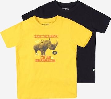 BLUE SEVEN T-Shirt in Gelb