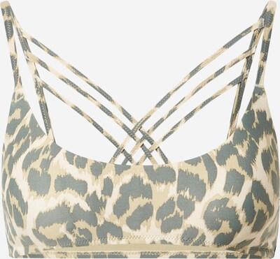 AERIE Bikinitop 'SCOOP STRAPPY' in beige / khaki / oliv, Produktansicht