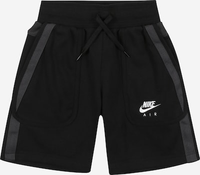 Nike Sportswear Shorts in grau / schwarz, Produktansicht