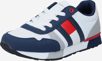 TOMMY HILFIGER Sneaker in blau / hellgrau / rot / weiß, Produktansicht