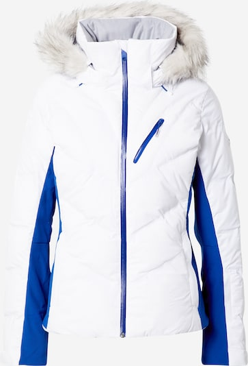 ROXY Veste outdoor en bleu / blanc, Vue avec produit