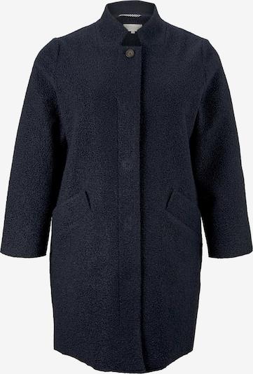 MY TRUE ME Mantel 'Boucle' in blau / dunkelblau, Produktansicht