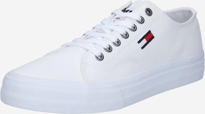 Tommy Jeans Matalavartiset tennarit värissä laivastonsininen / punainen / valkoinen, Tuotenäkymä